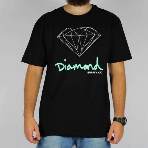 Camiseta Diamond OG - Preta
