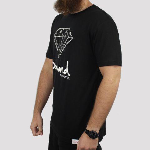 Camiseta Diamond OG Sing - Preta