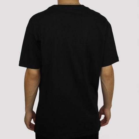 Camiseta Diamond Script - Black (Tamanho Especial)