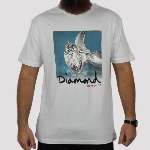 Camiseta Diamond Shimmer - Branca