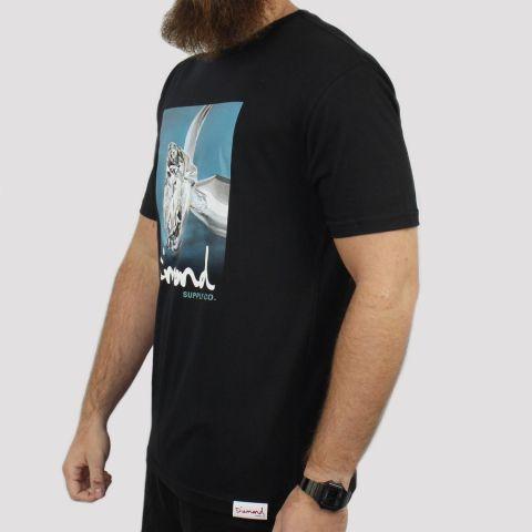 Camiseta Diamond Shimmer - Preta