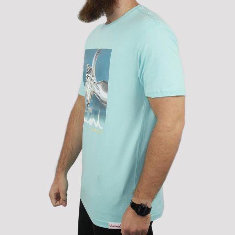 Camiseta Diamond Shimmer - Verde Água