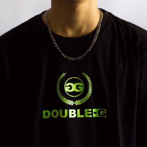 Camiseta Double G Basic Preta NEON