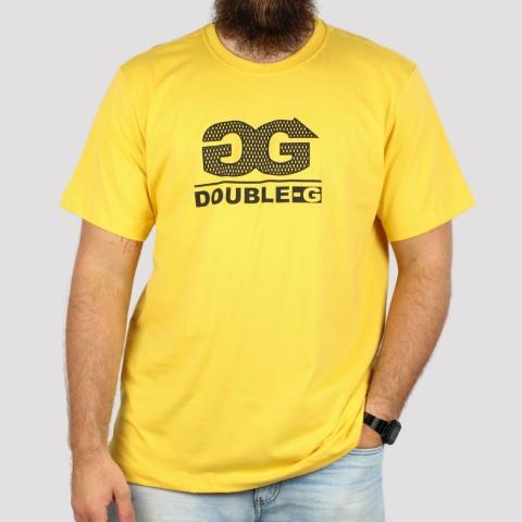 Camiseta Double G Classic Logo - Mostarda