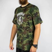 Camiseta Double G Print Camuflado Verde