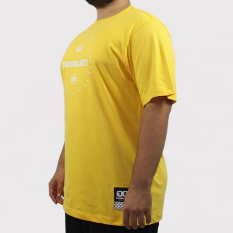 Camiseta Double G Royalty Since - Amarelo/Branco