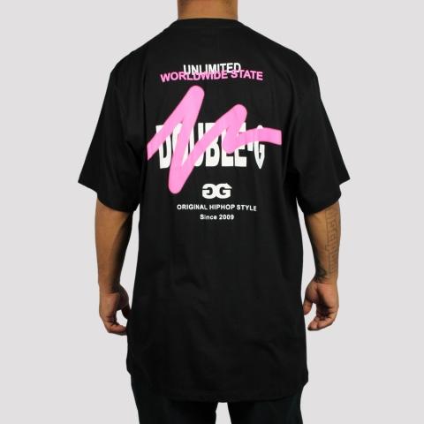 Camiseta Double G Street Preto