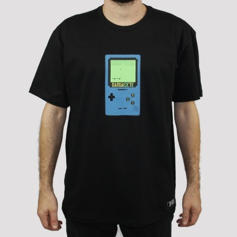Camiseta DR7 Street Game Boy - Preto