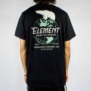Camiseta Element Arctic - Preta