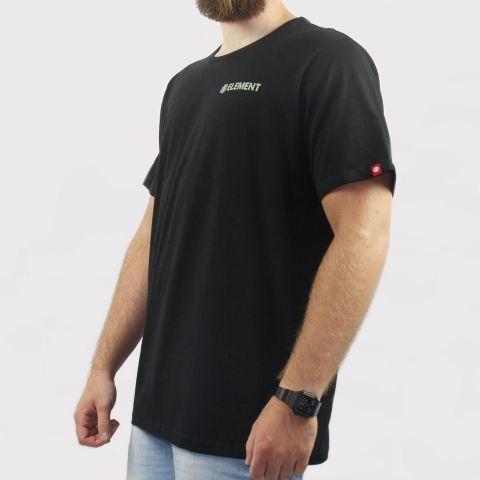 Camiseta Element Blazin Chest - Preta