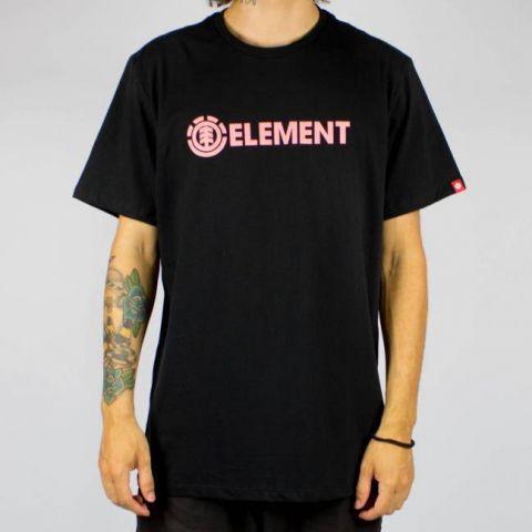 Camiseta Element Essential Blazin Preta