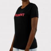 Camiseta Element Feminina Horizontal Essential Preto