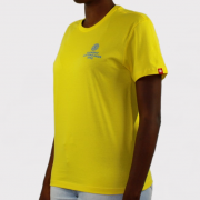 Camiseta Element Infantil Chrome BK Amarelo