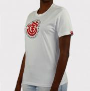 Camiseta Element Infantil Seal BK Branco/Vermelho/Preto