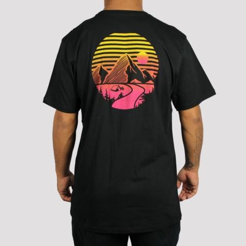 Camiseta Element Lucas Xaparral Preta