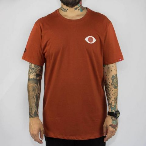 Camiseta Element Palm - Laranja Escuro