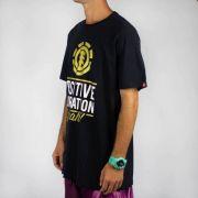 Camiseta Element Positive Vibration Preta
