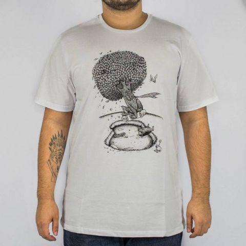 Camiseta Element Pushing Tree Dry Lake - Branca
