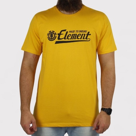 Camiseta Element Signature - Amarela