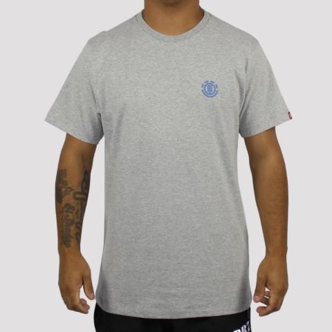 Camiseta Element Soft Crew - Cinza