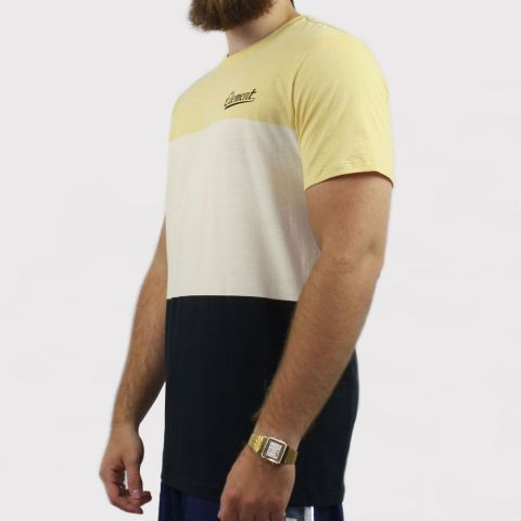 Camiseta Element Triblock - Amarelo