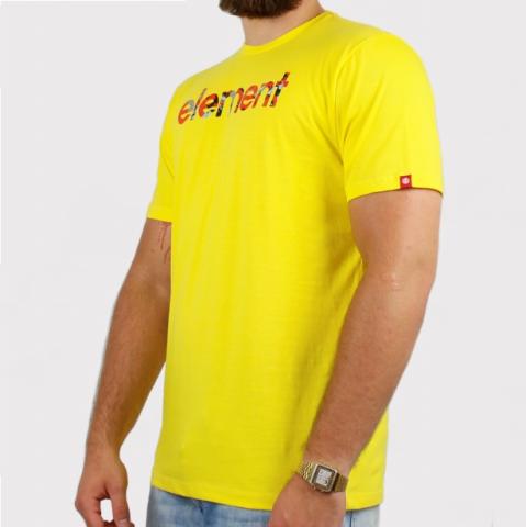 Camiseta Element Verse - Amarelo
