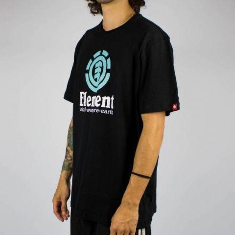Camiseta Element Vertical Preta