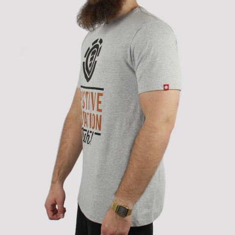 Camiseta Element Vibration - Cinza