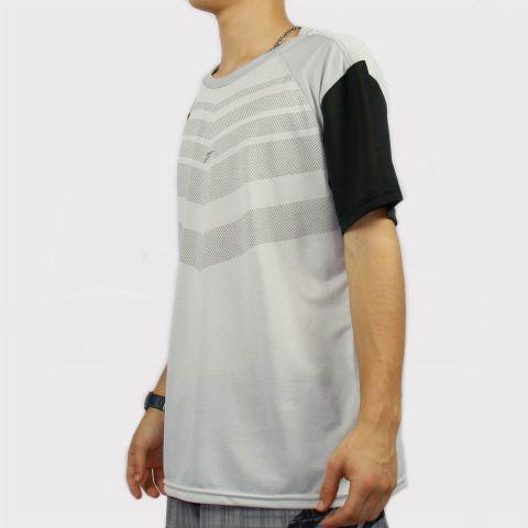 Camiseta Federal Art Dry Micro Furos - Cinza