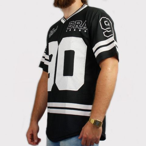 Camiseta Federal Art Futebol Americano - Preto/Branco