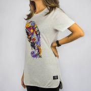 Camiseta Feminina Chemical Camaleão Mescla Claro