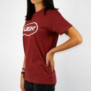 Camiseta Feminina Urgh Balão Vinho