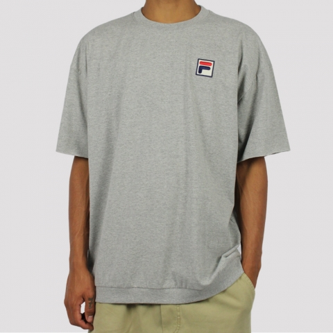 Camiseta Fila Comfort - Cinza Mescla