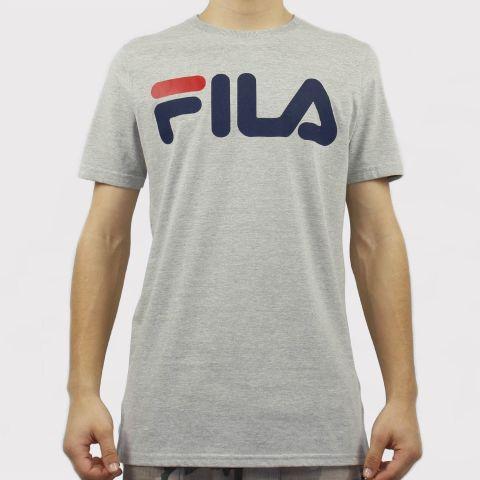 Camiseta Fila Letter - Cinza