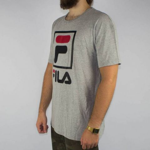 Camiseta Fila Oversize II - Cinza Mescla