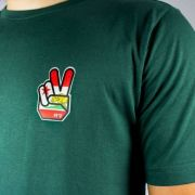 Camiseta Flip Caples Liberty Chest Verde
