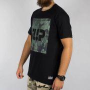 Camiseta Flip Deep Camo Preta/Camuflada