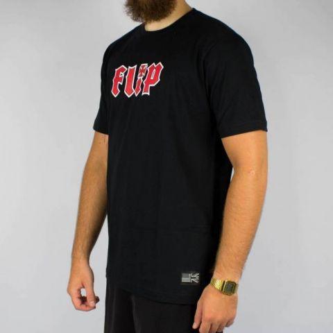 Camiseta Flip HKD - Preta