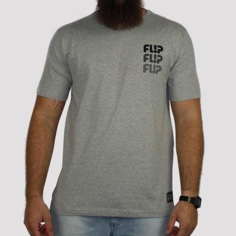 Camiseta Flip Odyssey Scale Chest - Cinza