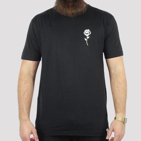 Camiseta Foton Rosas - Preto