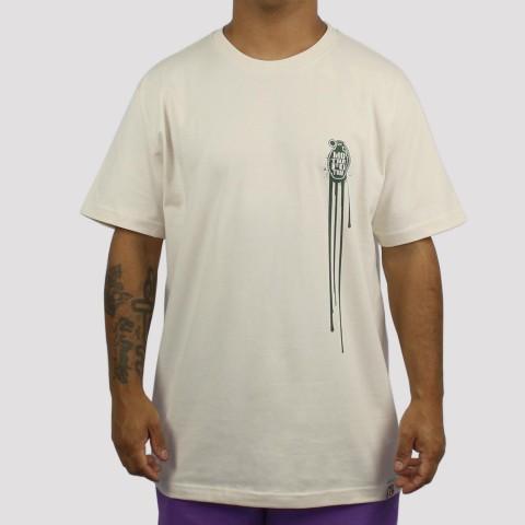 Camiseta Foton Stencil - Areia