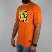 Camiseta Grizzly Nostalgic Laranja