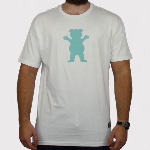 Camiseta Grizzly OG Bear - Branco/Verde