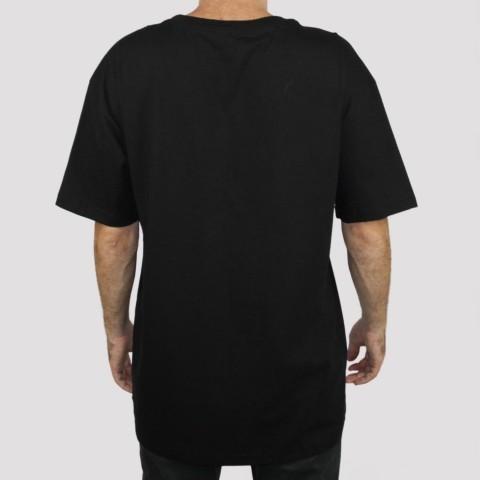 Camiseta Grizzly Stamp Fadeway - Preta