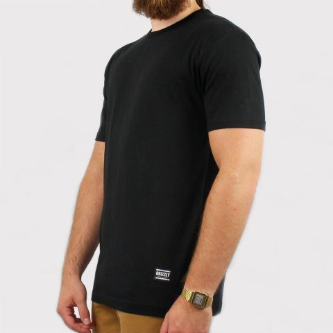 Camiseta Grizzly Tagless - Black/Preta