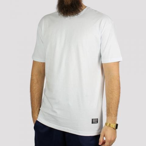 Camiseta Grizzly Tagless - Branca