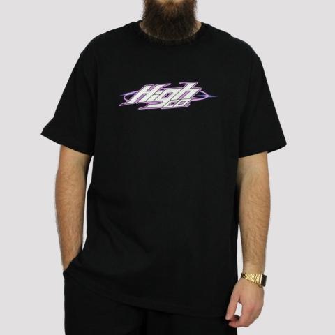 Camiseta High Tee Flare - Black