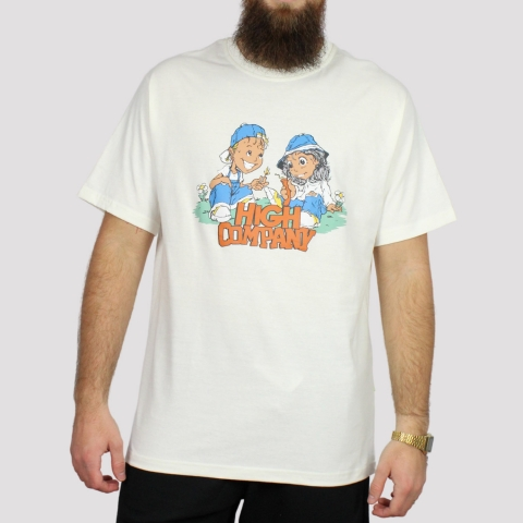 Camiseta High Tee Menace - Off White