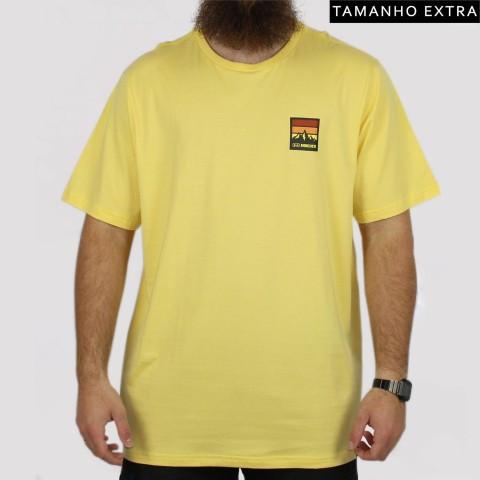 Camiseta Hocks Andes (Tamanho Extra) - Amarelo