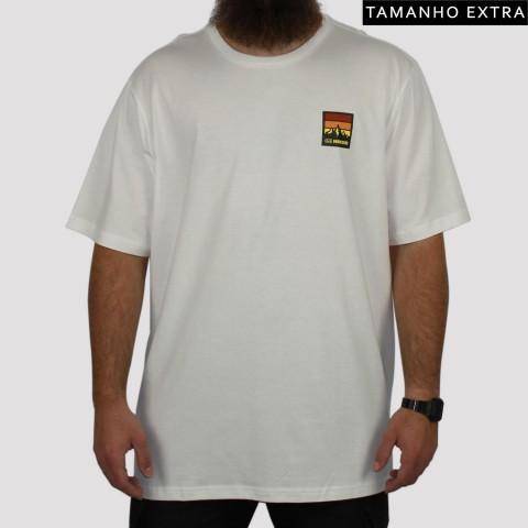 Camiseta Hocks Andes (Tamanho Extra) - Off White